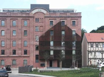 antignum - Zimmer-und Dachdeckermeisterbetrieb Erfurt - sanierter Gebäudekomplex Bischlebener Mühle in Erfurt