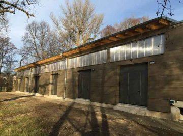 Projekte antignum - Ersatzbau Bootshaus in Jena