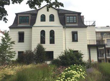 Projekte antignum - Altbausanierung, Stadtvilla aus den 20-iger Jahren in Erfurt, Dachdecker Erfurt, antignum