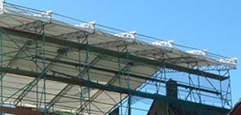 antignum - Zimmer-und Dachdeckermeisterbetrieb Erfurt - Detail Notdach