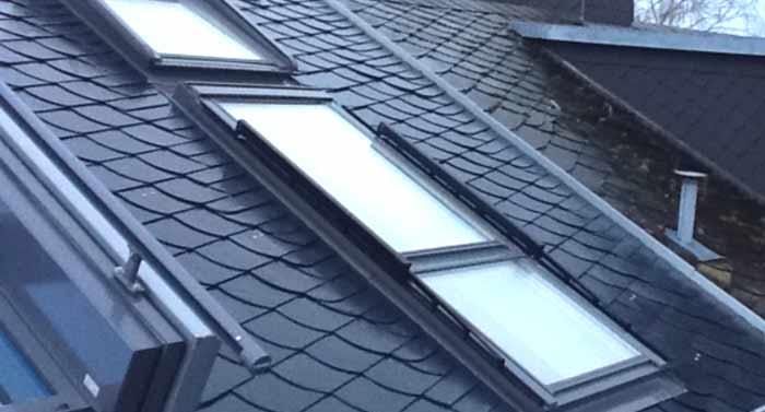 Dachfenstersysteme, fachgerecht montiert