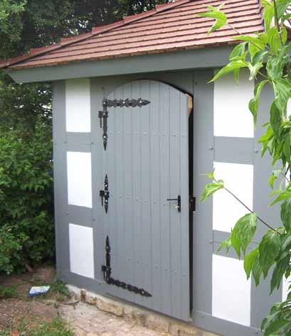 Gartenhaus individuell geplant und umgesetzt