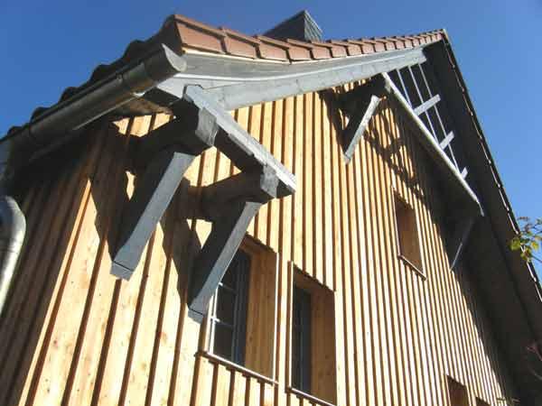 Schmuckgiebel historisches Bauernhaus