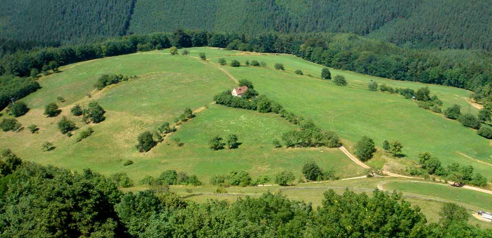 Blogbeitrag Tradition Wanderschaft, Thüringer Landschaft
