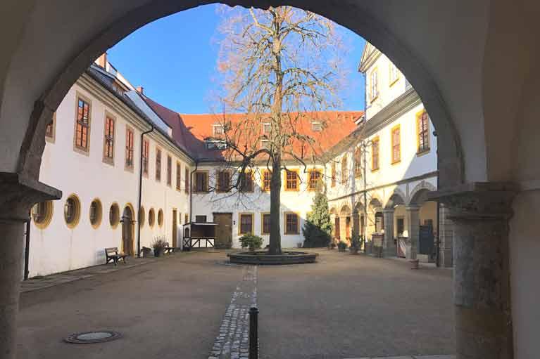 Schloss Tenneberg Innenhof