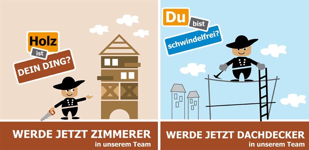 Wir bilden aus - Zimmerer und Dachdecker (m/w/d), antignum Erfurt